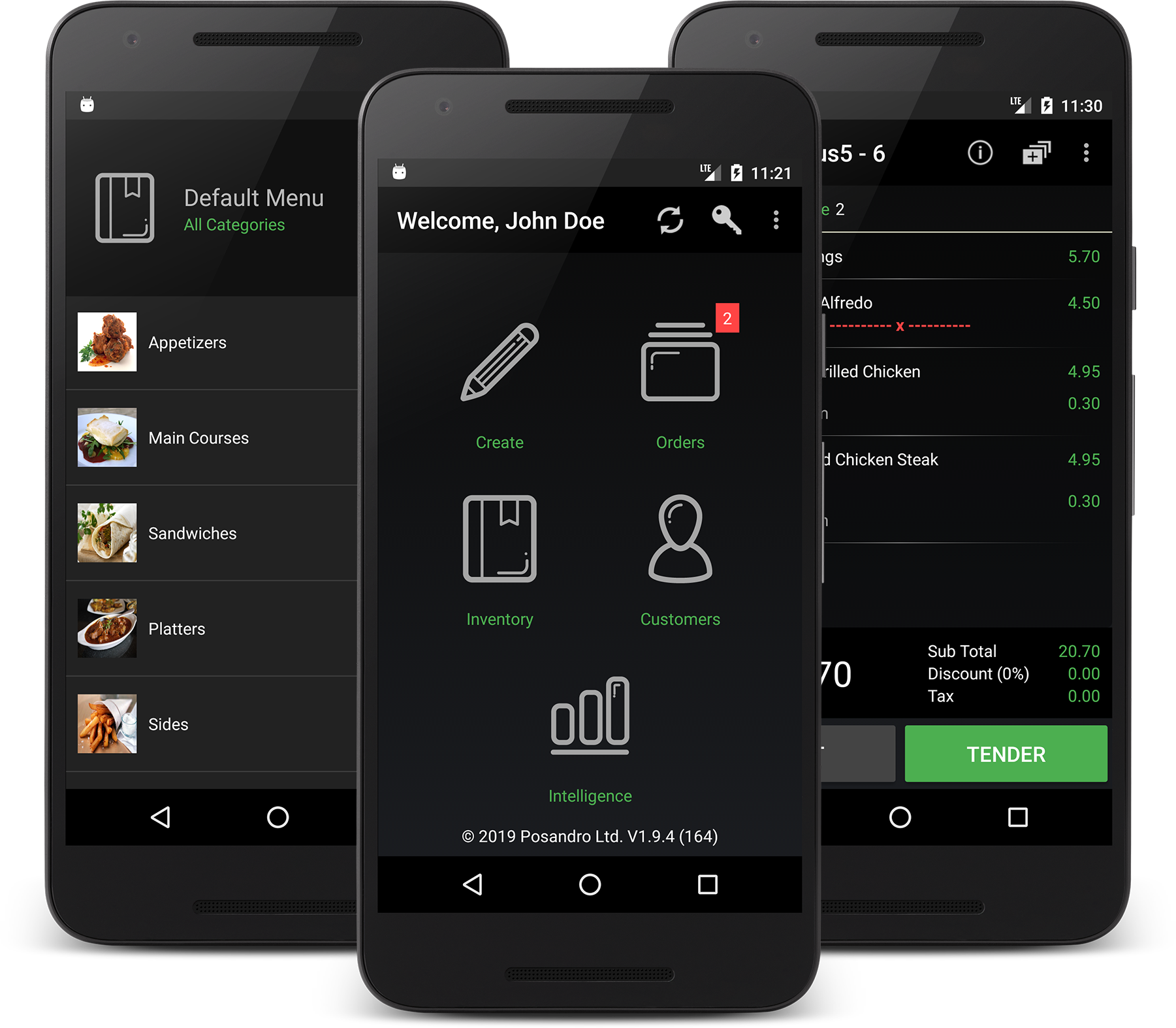 Android Point of Sale | Android ePOS Restaurants, Cafes